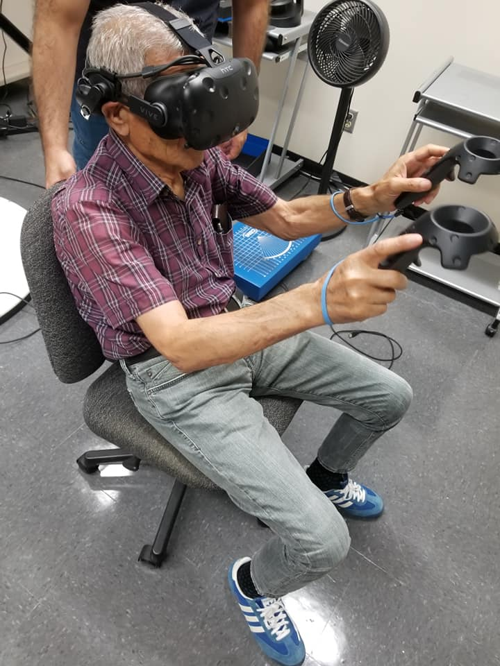 Older adults and VR